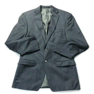 Calvin Klein Gray Single Breasted Suit 40R M204